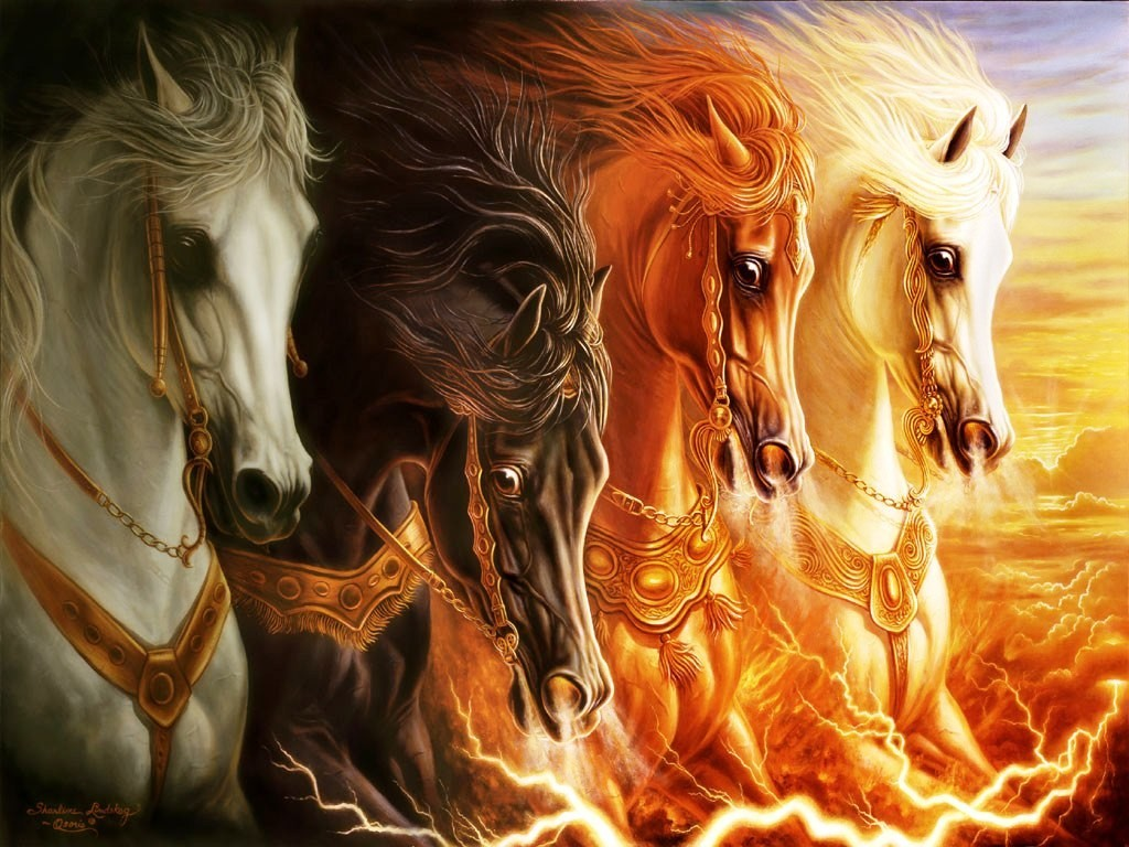Los Cuatro Jinetes del Apocalipsis ya cabalgan entre nosotros | La ...