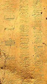 Una inscripción de fecha para la «cuenta larga» maya.