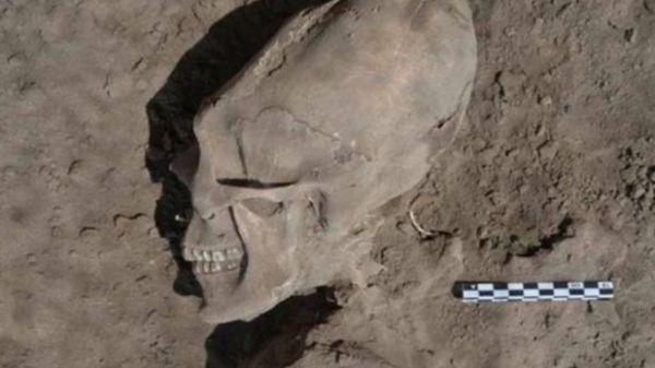 Se trata de restos prehispánicos con deformaciones y alargamientos producto de la cultura de la zona