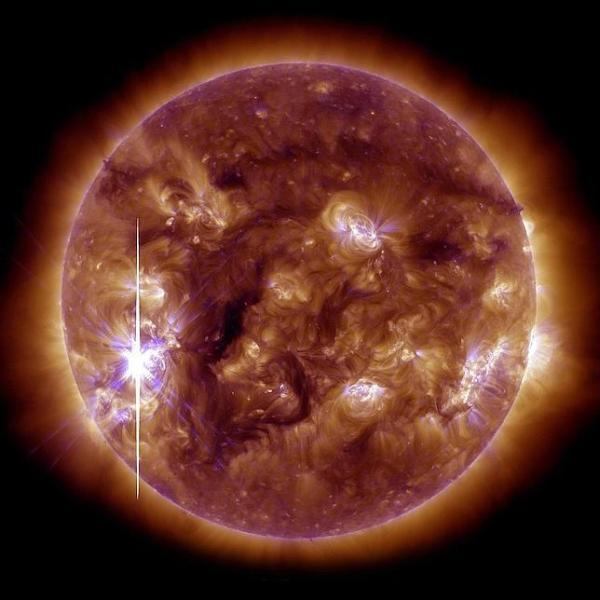 campo magntico sol