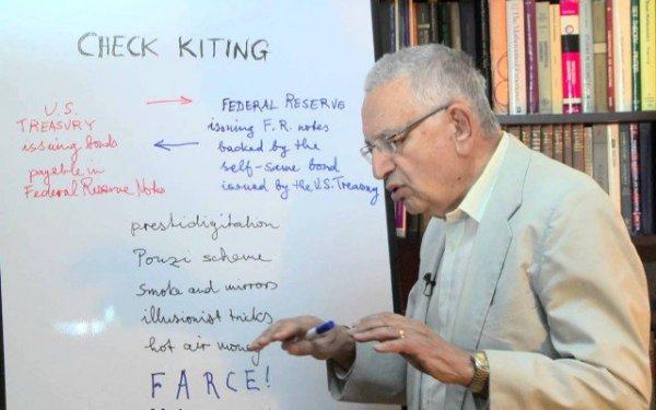 Antal Fekete, fundador de la Nueva Escuela Austriaca de Economía.