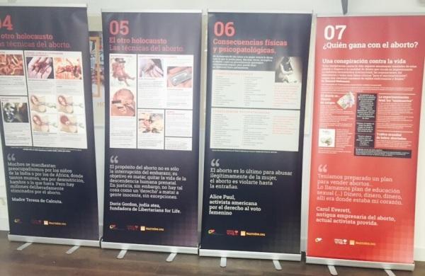 Algunos de los paneles de Expovida / Actuall