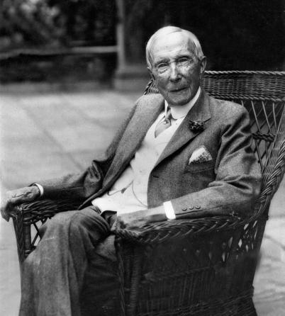 John D. Rockefeller, longevidad y Homeopatía.
